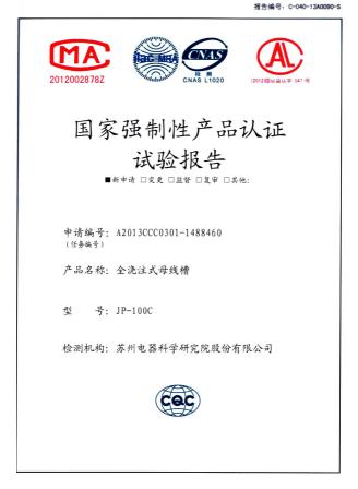JP100C检测报告